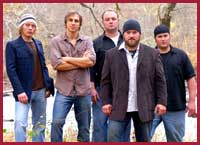 Zac Brown Band - American country/folk band based in Atlanta, Georgia on the Southern Ground Artists label. Jimmy De Martini (fiddle, vocals), John Driskell Hopkins (bass guitar, vocals), Coy Bowles (guitar, keyboards), Chris Fryar (drums), Clay Cook (guitar, keyboards, mandolin, steel guitar, vocals), and Daniel de los Reyes (percussion)