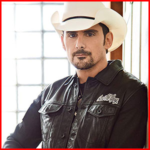 Brad Paisley - Country Music Association Awards – Entertainer of the Year - Academy of Country Music – Top Male Vocalist of the Year